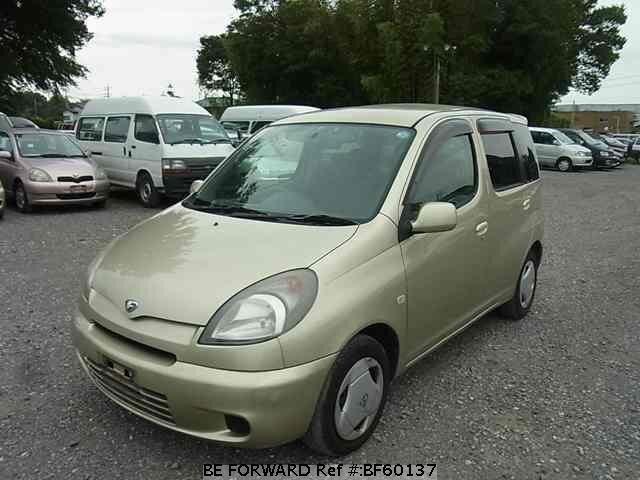 Used 2001 TOYOTA FUN CARGO BF60137 for Sale