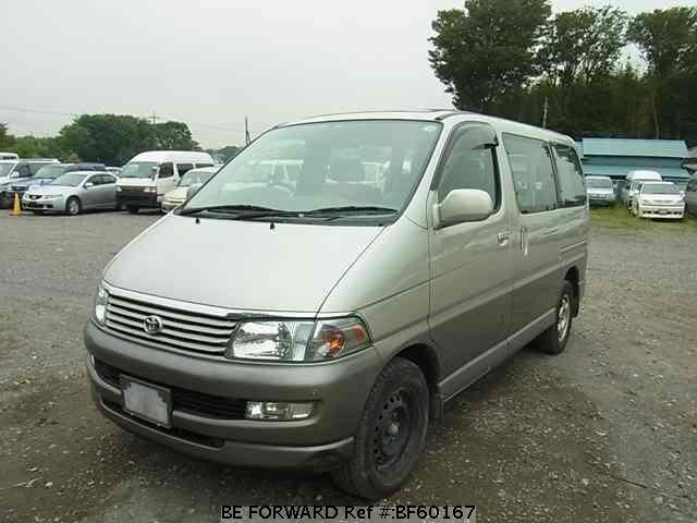 Used 1999 TOYOTA REGIUS WAGON BF60167 for Sale