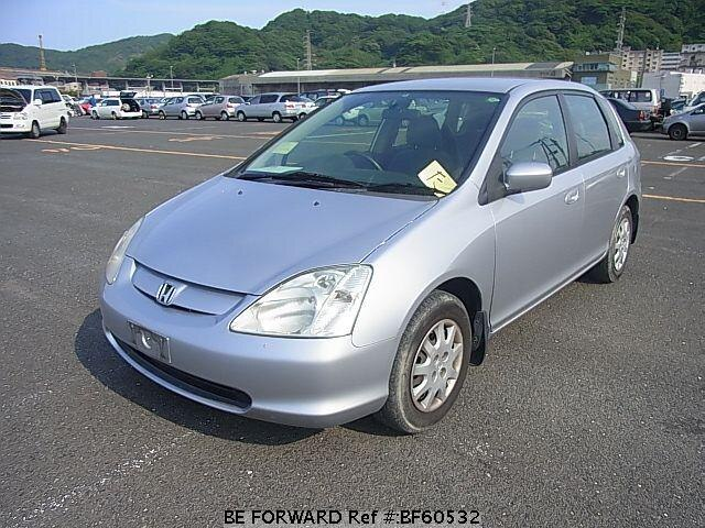 Used 2002 HONDA CIVIC BF60532 for Sale