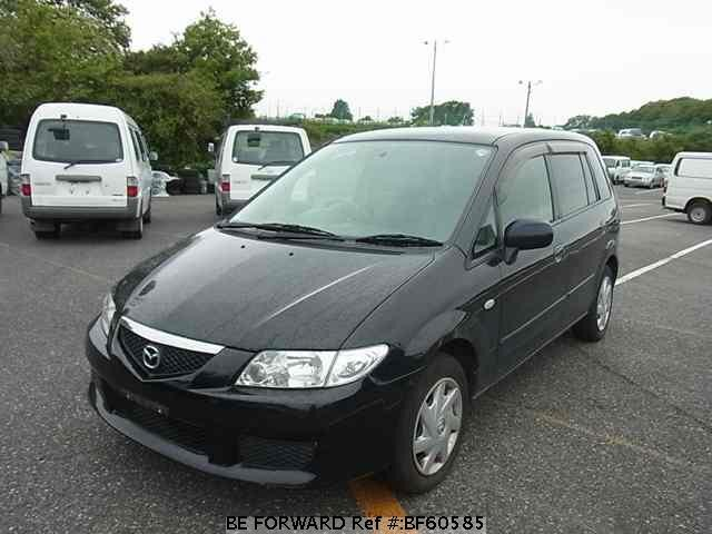 Used 2003 MAZDA PREMACY BF60585 for Sale