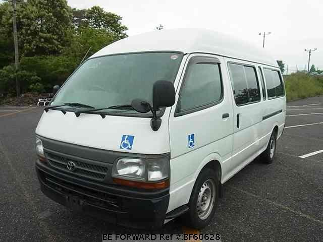 Used 2002 TOYOTA HIACE COMMUTER BF60628 for Sale
