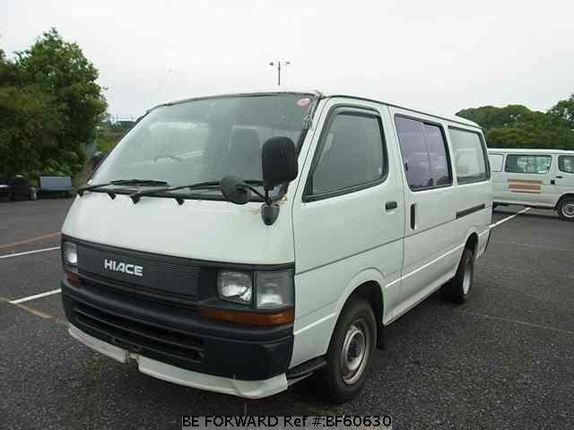Used 1989 TOYOTA HIACE VAN BF60630 for Sale