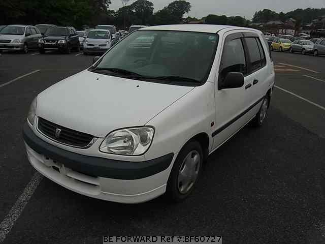 Used 2001 TOYOTA RAUM BF60727 for Sale