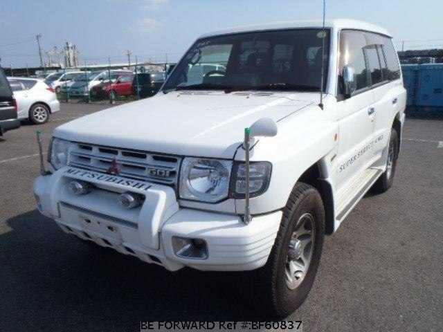 Used 1998 MITSUBISHI PAJERO BF60837 for Sale