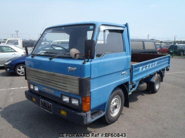 Used 1989 MAZDA TITAN BF60843 for Sale