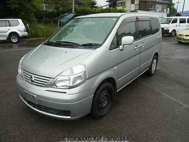 Used 2002 NISSAN SERENA BF60894 for Sale