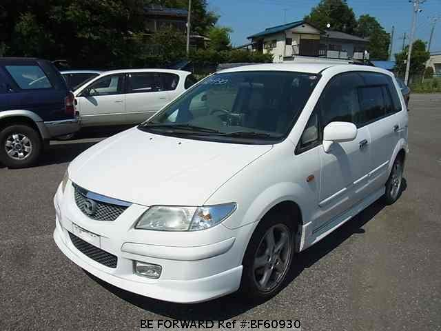 Used 2001 MAZDA PREMACY BF60930 for Sale