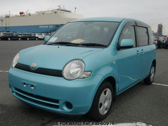 Used 2004 TOYOTA SIENTA BF60976 for Sale