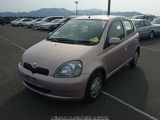 Used 2001 TOYOTA VITZ BF61024 for Sale