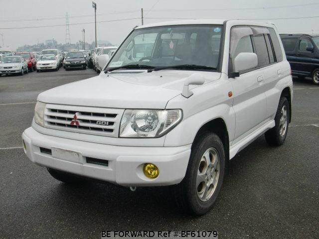 Used 1999 MITSUBISHI PAJERO IO BF61079 for Sale