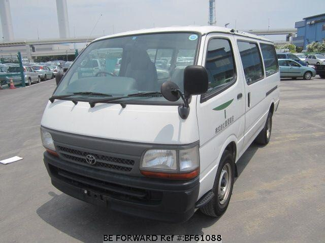 Used 2002 TOYOTA HIACE VAN BF61088 for Sale