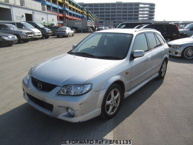 Used 2000 MAZDA FAMILIA S-WAGON BF61135 for Sale