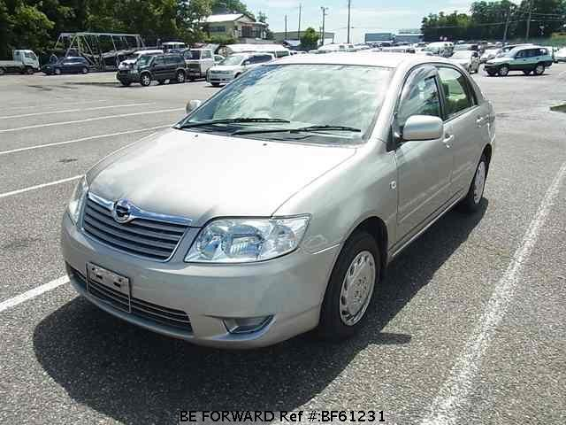 Used 2004 TOYOTA COROLLA SEDAN BF61231 for Sale