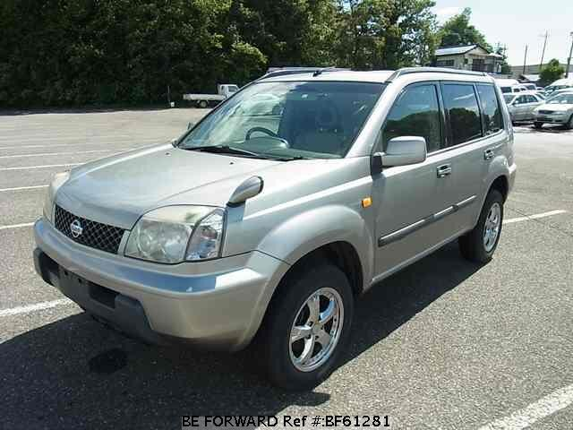 Used 2001 NISSAN X-TRAIL BF61281 for Sale