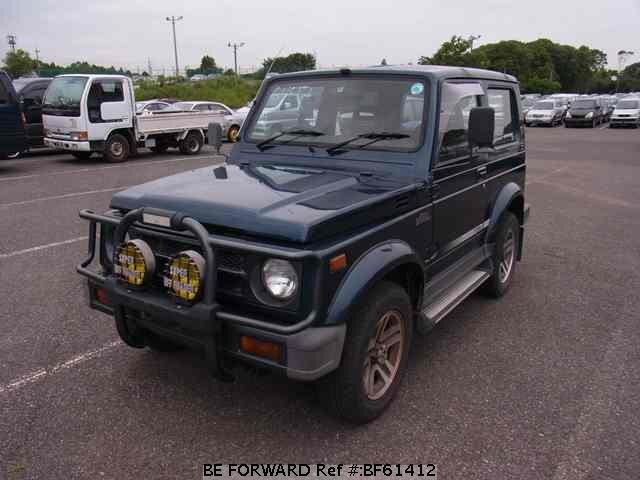 Used 1995 SUZUKI JIMNY SIERRA BF61412 for Sale