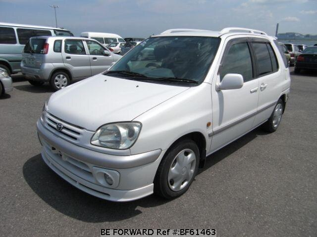 Used 1999 TOYOTA RAUM BF61463 for Sale