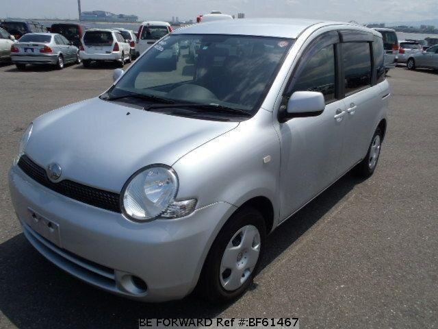Used 2004 TOYOTA SIENTA BF61467 for Sale