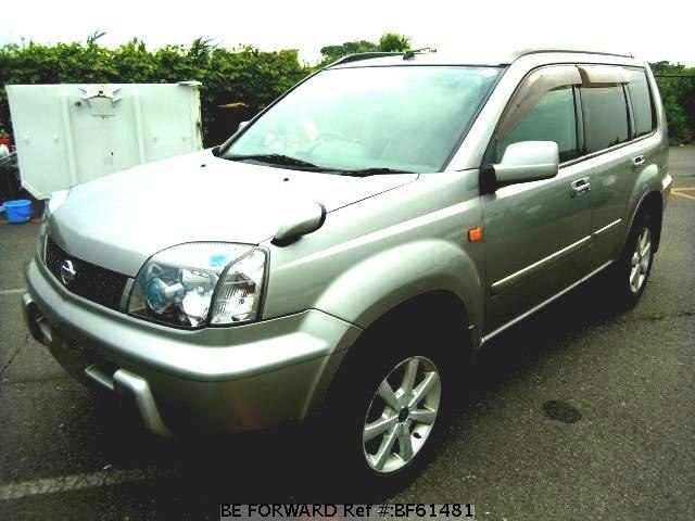 Used 2001 NISSAN X-TRAIL BF61481 for Sale