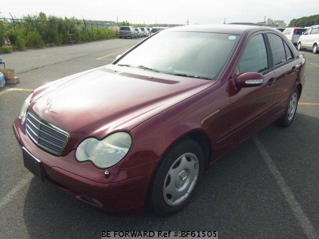 Used 2002 MERCEDES-BENZ C-CLASS BF61505 for Sale