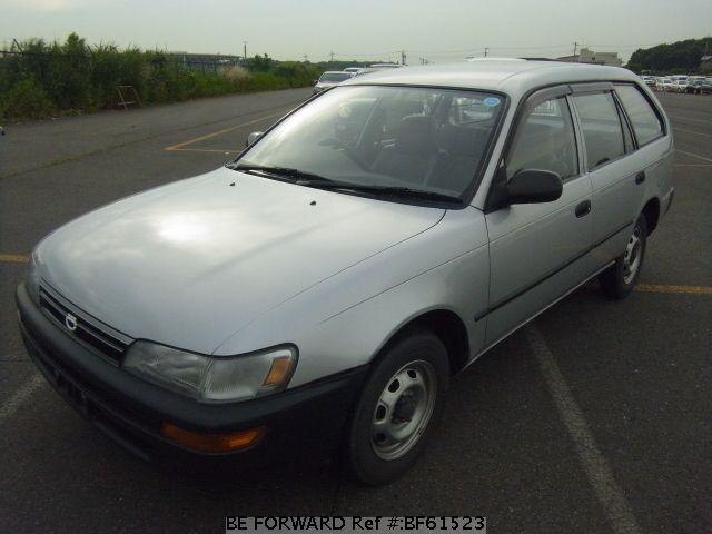 Used 1992 TOYOTA COROLLA VAN BF61523 for Sale