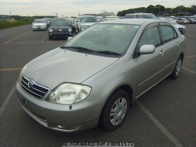 Used 2001 TOYOTA COROLLA SEDAN BF61572 for Sale