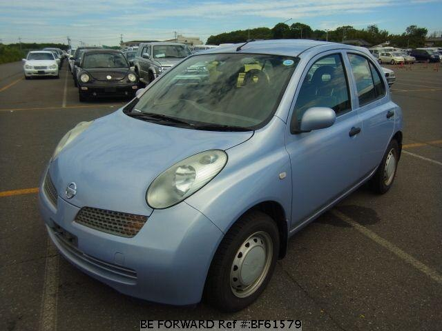 Used 2003 NISSAN MARCH BF61579 for Sale