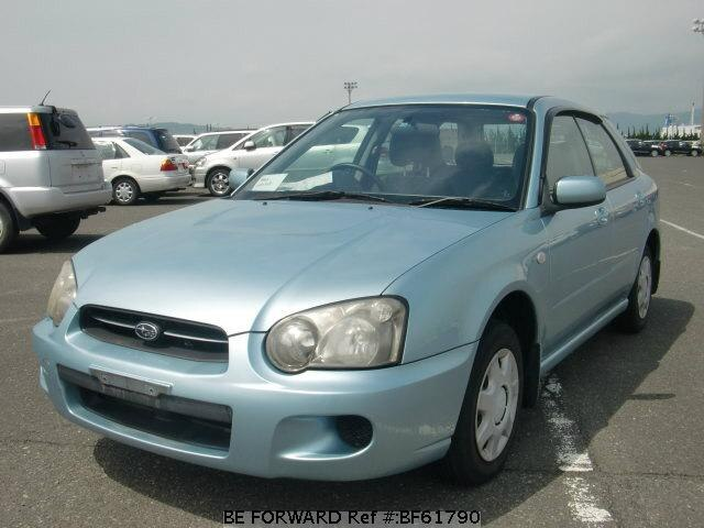 Used 2003 SUBARU IMPREZA SPORTSWAGON BF61790 for Sale