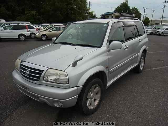 Used 2001 SUZUKI GRAND ESCUDO BF61808 for Sale