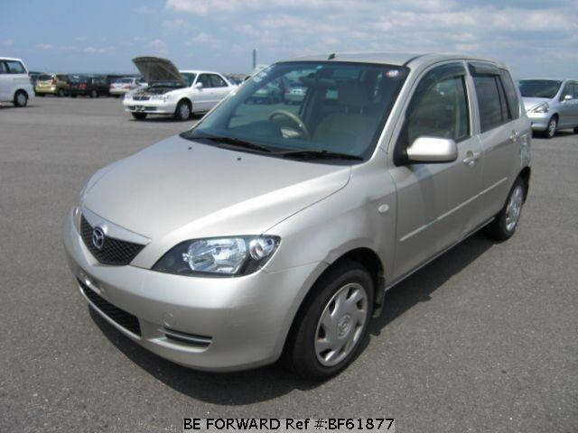 Used 2004 MAZDA DEMIO BF61877 for Sale