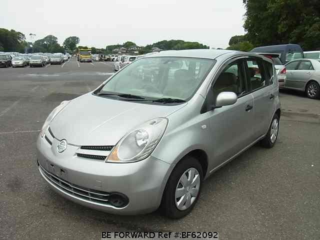Used 2006 NISSAN NOTE BF62092 for Sale
