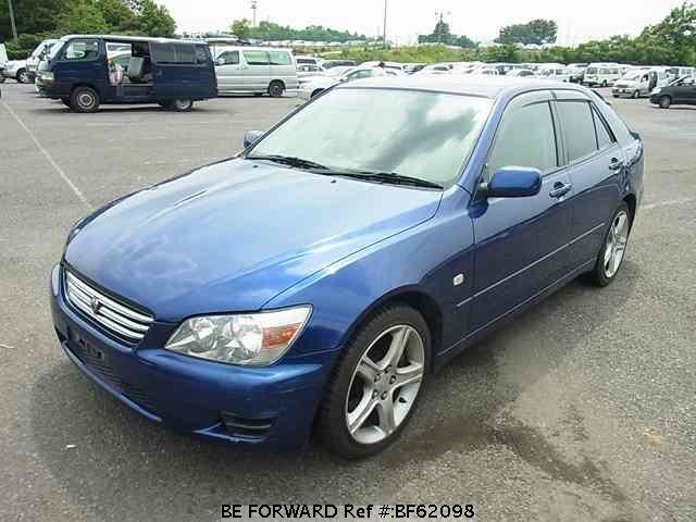 Used 1999 TOYOTA ALTEZZA BF62098 for Sale