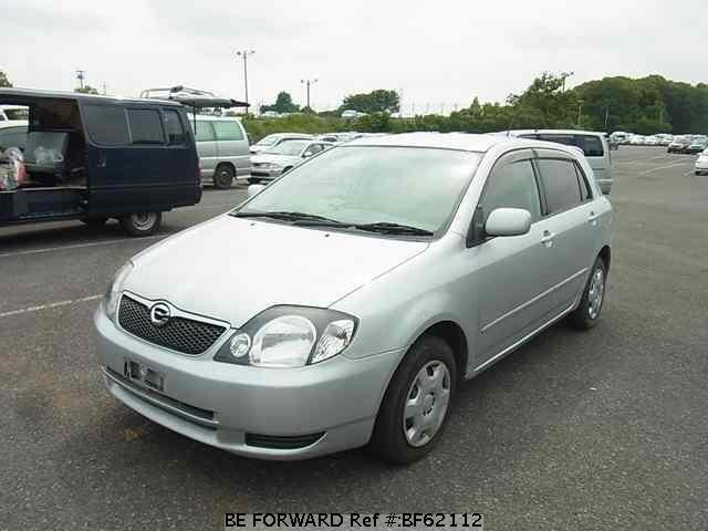Used 2002 TOYOTA COROLLA RUNX BF62112 for Sale