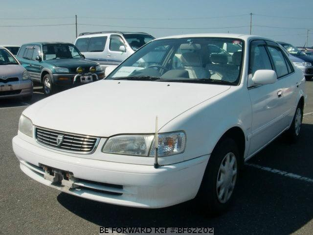Used 2000 TOYOTA COROLLA SEDAN BF62202 for Sale