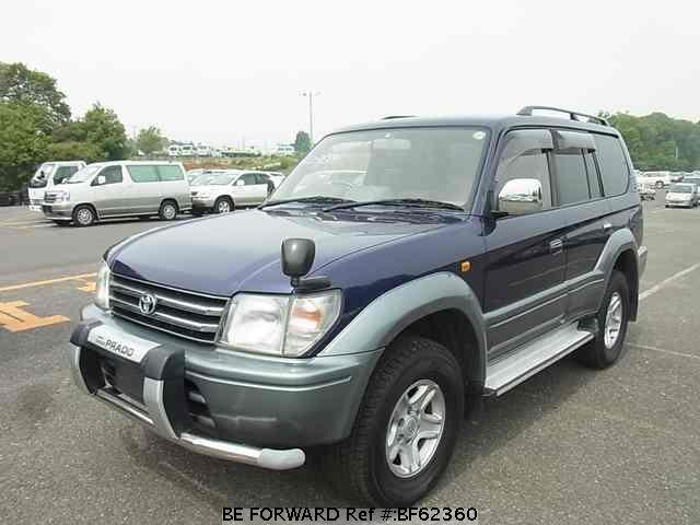 Used 1997 TOYOTA LAND CRUISER PRADO BF62360 for Sale