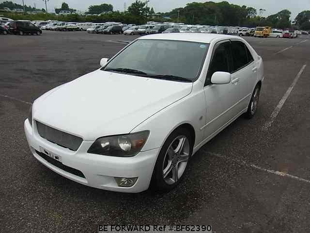 Used 1999 TOYOTA ALTEZZA BF62390 for Sale