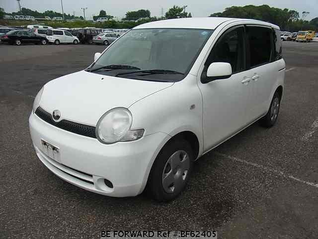 Used 2003 TOYOTA SIENTA BF62405 for Sale
