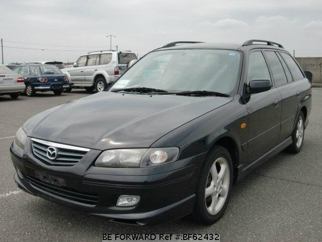 Used 2002 MAZDA CAPELLA WAGON BF62432 for Sale