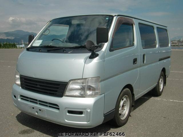 Used 2002 NISSAN CARAVAN VAN BF62466 for Sale