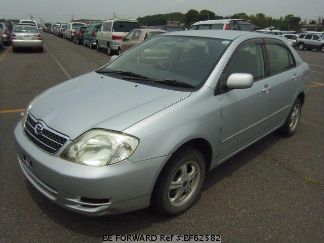 Used 2002 TOYOTA COROLLA SEDAN BF62582 for Sale