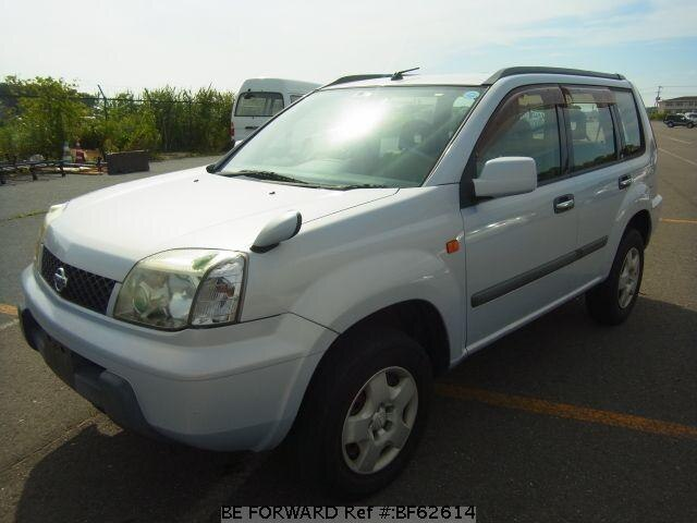 Used 2002 NISSAN X-TRAIL BF62614 for Sale