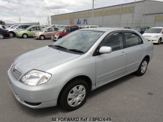 Used 2003 TOYOTA COROLLA SEDAN BF62649 for Sale