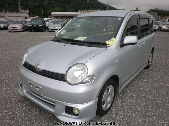 Used 2004 TOYOTA SIENTA BF62738 for Sale
