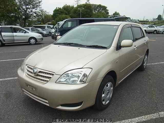 Used 2003 TOYOTA ALLEX BF62809 for Sale