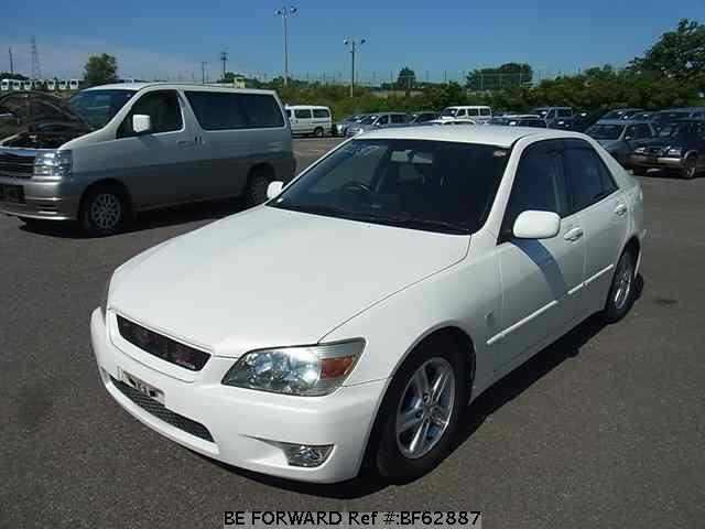 Used 2002 TOYOTA ALTEZZA BF62887 for Sale