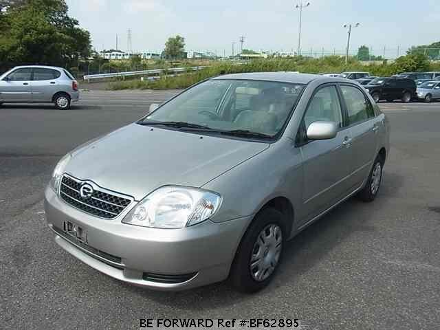 Used 2002 TOYOTA COROLLA SEDAN BF62895 for Sale