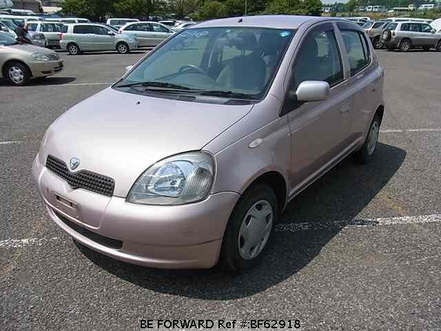 Used 1999 TOYOTA VITZ BF62918 for Sale