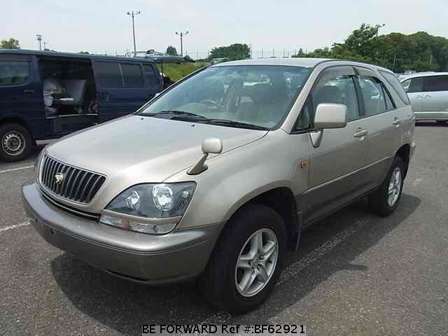 Used 1998 TOYOTA HARRIER BF62921 for Sale