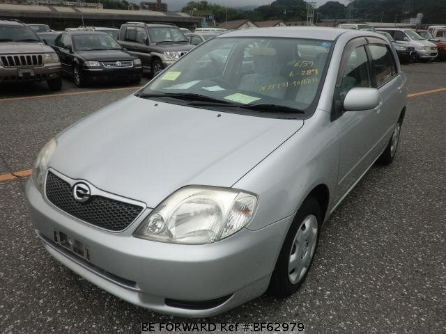 Used 2002 TOYOTA COROLLA RUNX BF62979 for Sale