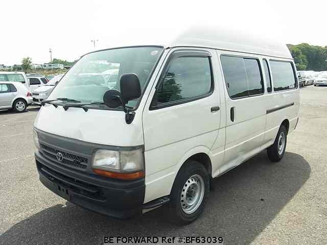 Used 2004 TOYOTA HIACE VAN BF63039 for Sale
