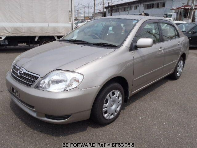 Used 2001 TOYOTA COROLLA SEDAN BF63058 for Sale